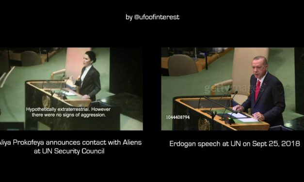 FAKE | Aliya Prokofyeva announced contact with Aliens at UN Security Council