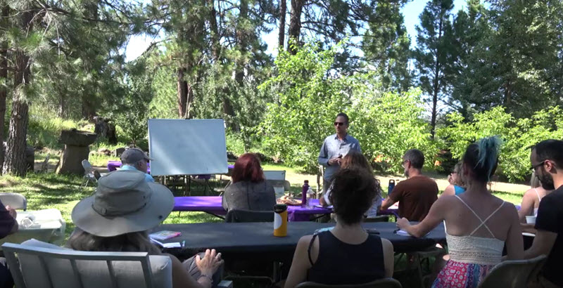 Remote Viewing the Ancient Aliens of ECETI Ranch and Mt. Adams