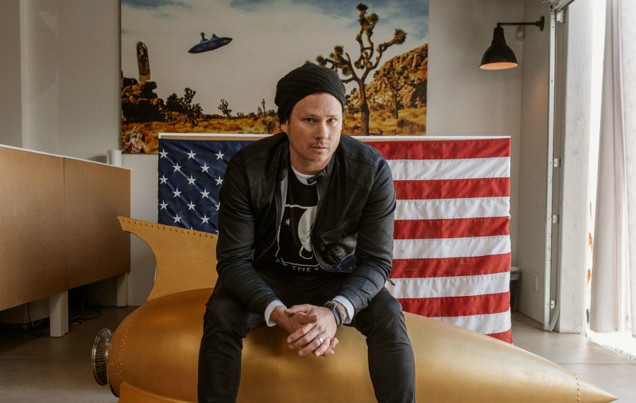 "Tom DeLonge to ""expose new evidence about UFOs"" in new History Channel series"