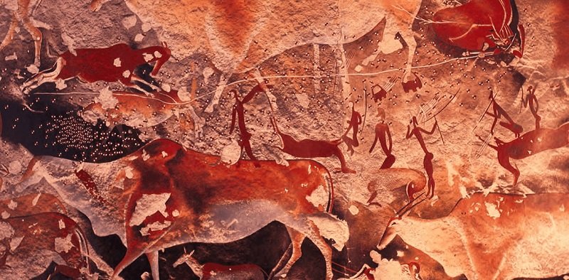 10,000-year-old Rock Paintings Depicting Aliens and UFOs