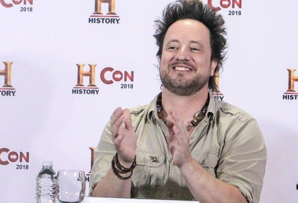 WATCH: Giorgio Tsoukalos gives 'evidence' of 'ancient aliens' in the Philippines