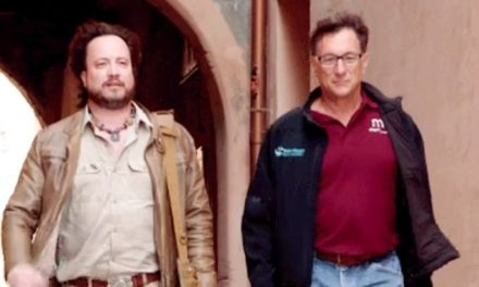 The Curse of Oak Island meets Ancient Aliens as Marty Lagina and Giorgio A. Tsoukalos investigate Sardinian ruins