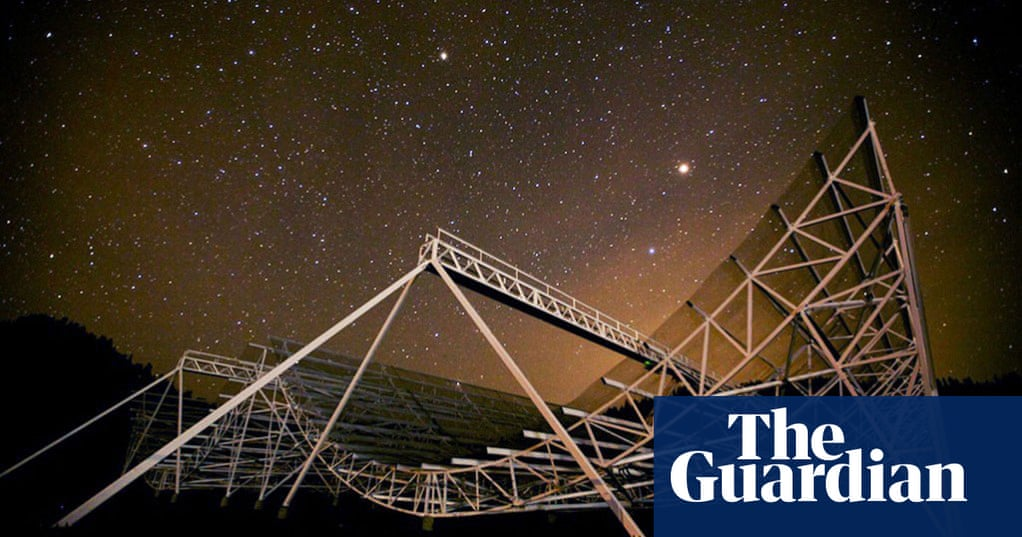 Mysterious fast radio bursts from deep space 'could be aliens' | Science | The Guardian