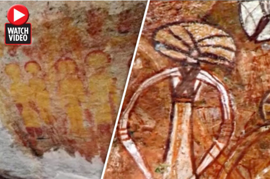 Alien news: NASA to investigate 10,000 year old paintings 'of UFOs'