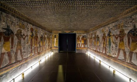Pharaoh Seti I tomb resurrected in Switzerland