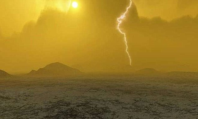 Aliens could be living in the acid clouds of Venus say Nasa (but they are likely just tiny bacteria)