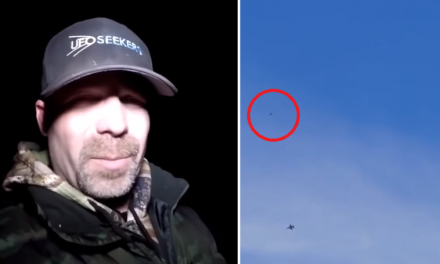 UFO Hunters Believe They've Captured Military Planes Fighting Aliens