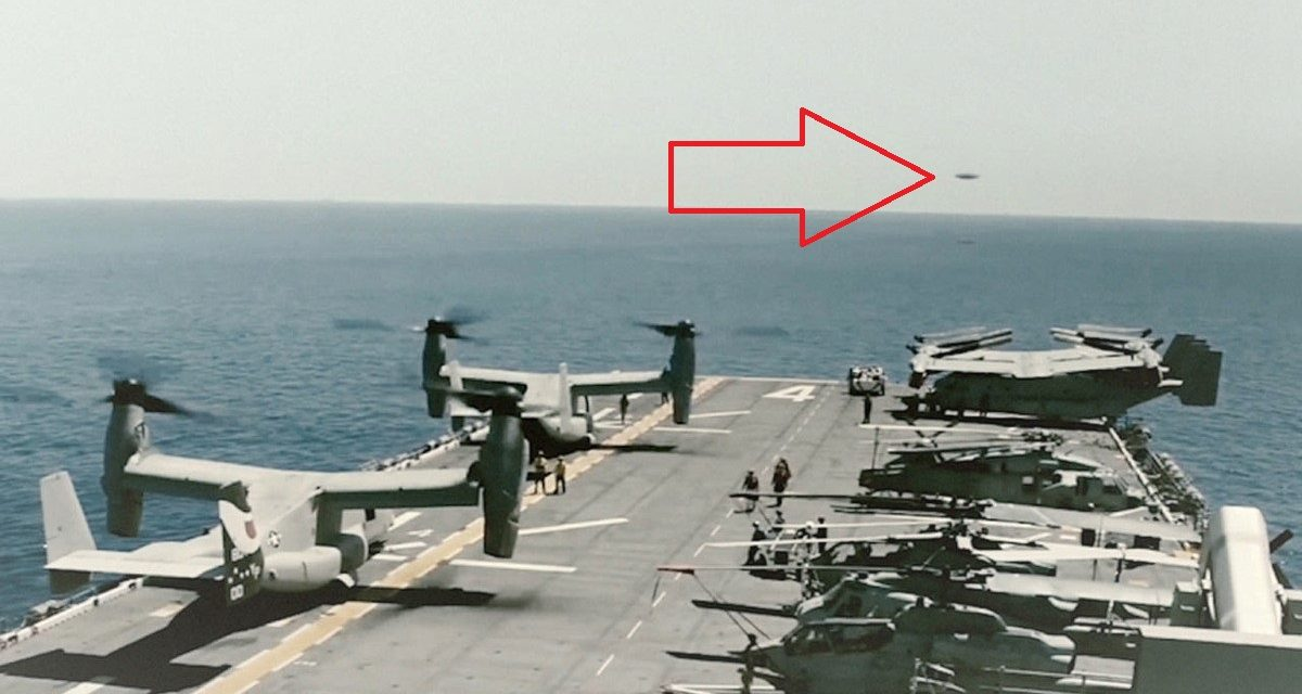 The US Navy filmed a UFO that defied the laws of Physics, claims former senior US national security chief | Ancient Code