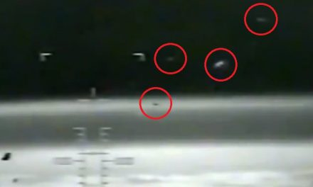 Does This NASA Footage Show Proof Of UFOs Moving Through Earth's Atmosphere?