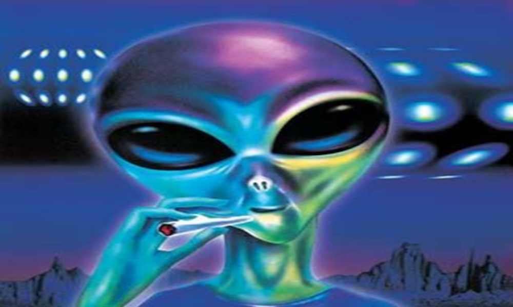 Are Aliens Watching Us Because They Want Our Weed? · High Times