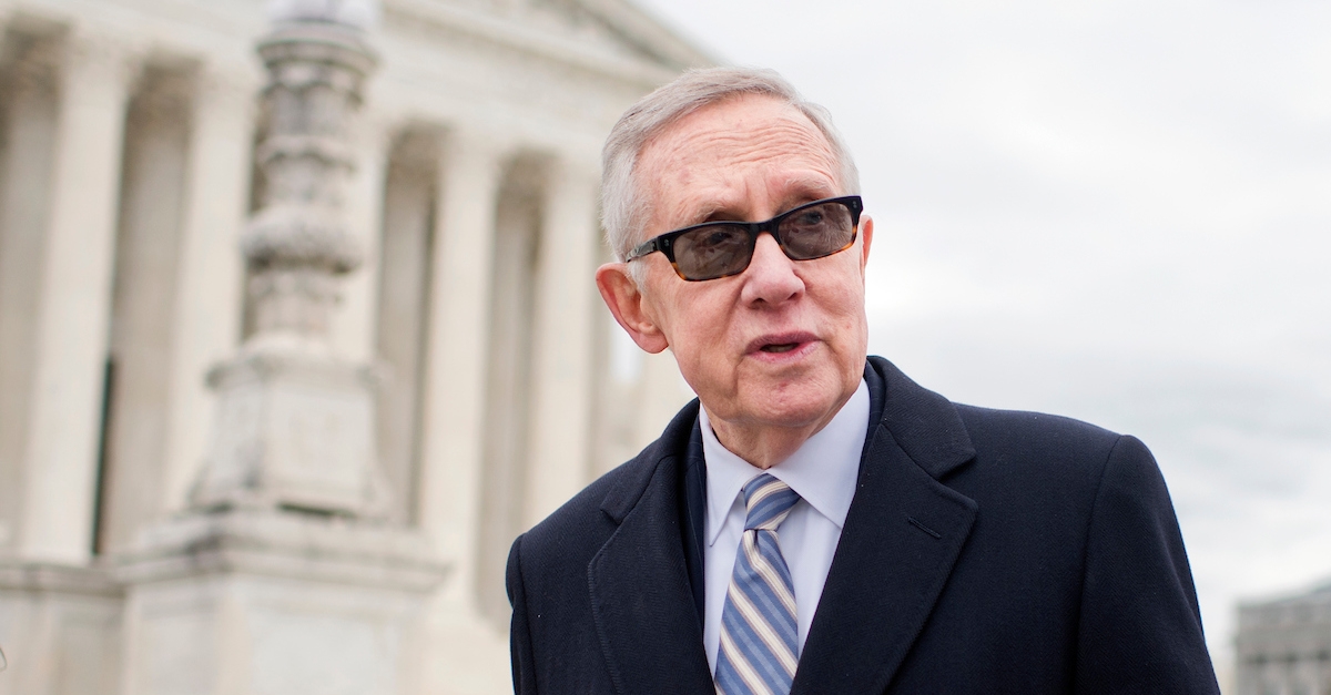 Harry Reid pushing for more UFO research