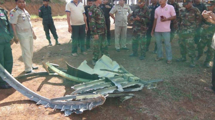 "Pieces Of A ""UFO"" Fell From The Sky And Landed In Remote Cambodian Village"