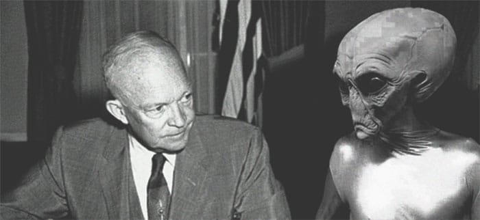 Former Pentagon consultant claims President Eisenhower had 3 secret meetings with Aliens