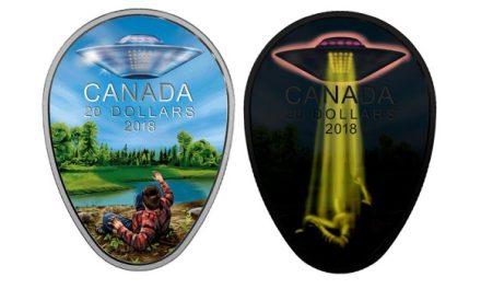 New $20 coin captures one of Canada's closest UFO encounters