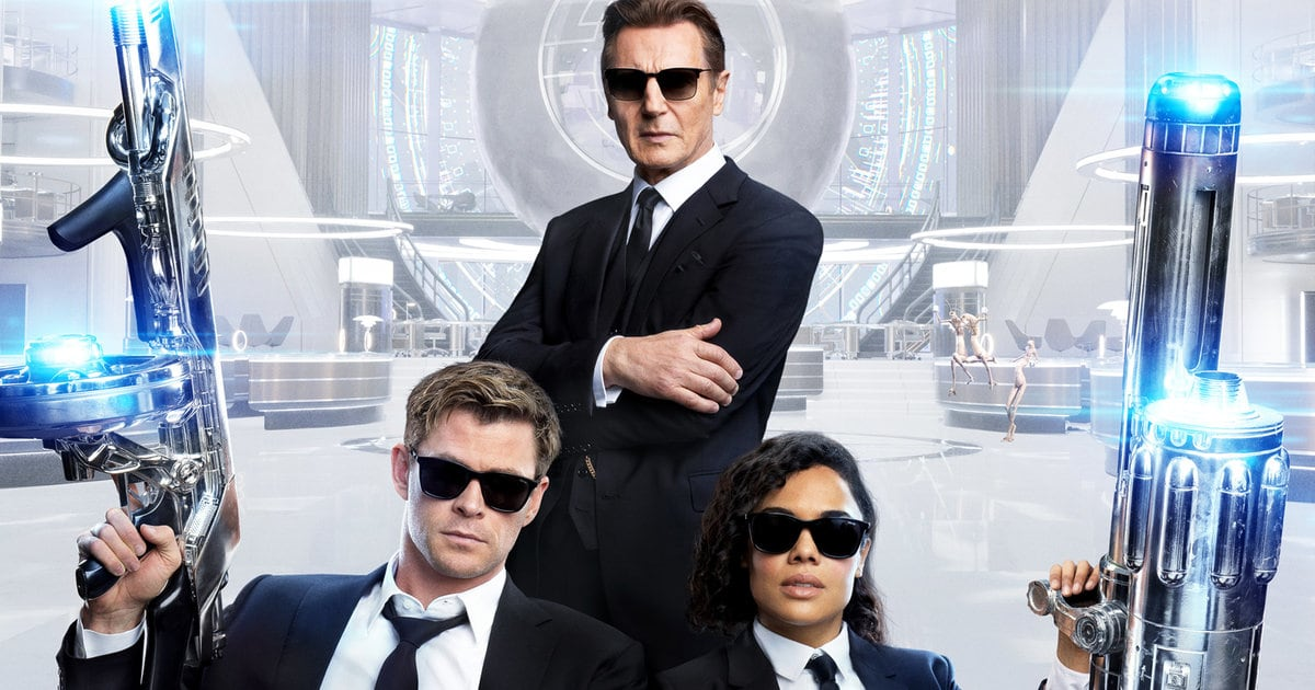 'Men In Black: International' Trailer: Chris Hemsworth, Tessa Thompson & Liam Neeson Battle Aliens In London | toofab.com