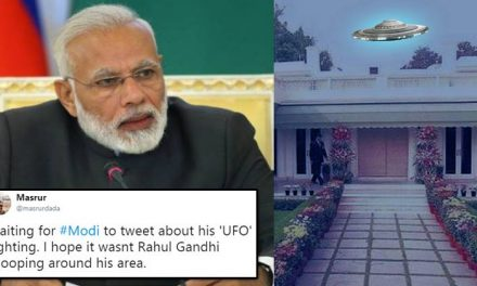 UFO Spotted Near Narendra Modi's House. Twitterati  Comes With Hilarious Tweets