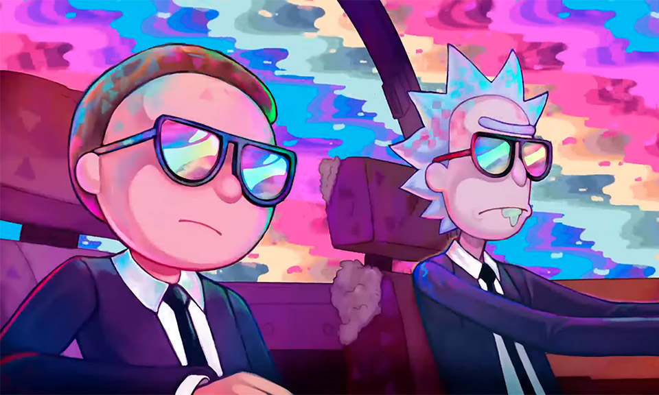 """Rick & Morty Fight Aliens in Run The Jewels' """"Oh Mama"""" Video"""