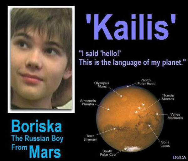 Russian Couple Claim Their Son is a Martian, Possesses In-Depth Knowledge on UFOs and the Universe [Video]