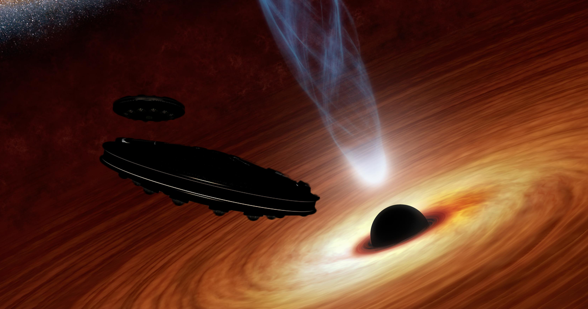 New SETI Plan: Detect Alien Starships Powered by Black Holes