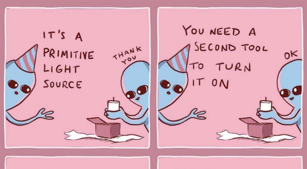 These Viral Comics Prove That Humans Are The Weirdest Aliens Of All – Secretnyc