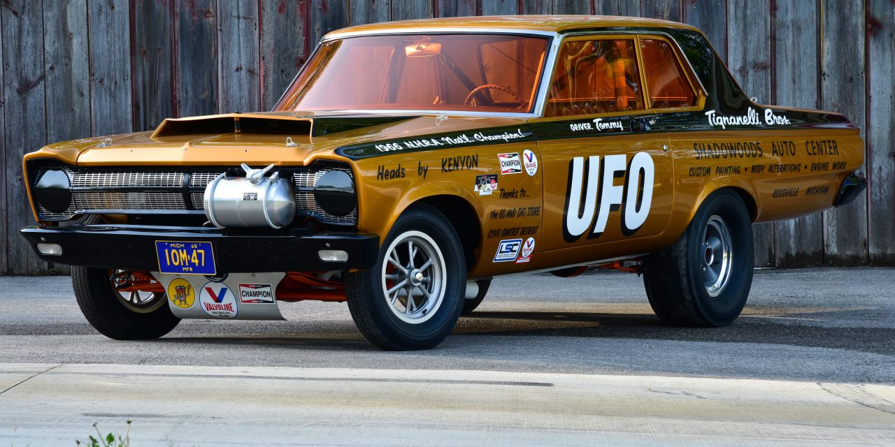 UFO Sighting: The 1967 NHRA C/XS Championship-Winning 1965 Plymouth A990 Belvedere I is Reborn