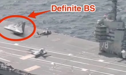 Bad photoshop fools Iranian media US aircraft carriers UFO conspiracy