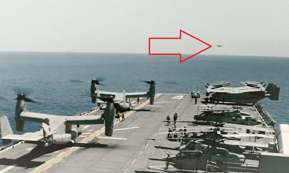 The US Navy filmed a UFO that defied the laws of Physics, claims former senior US national security chief