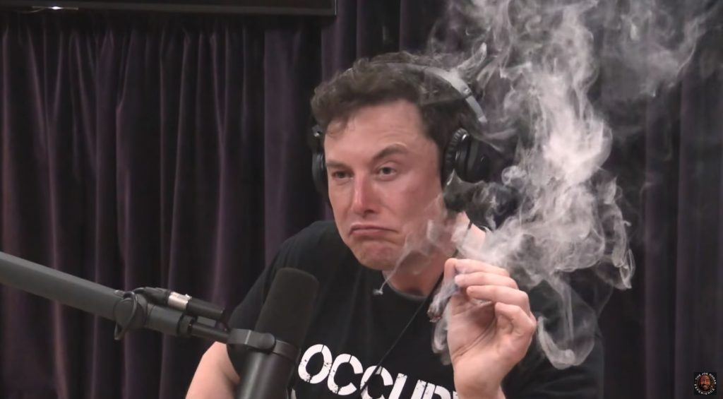 (Video) Elon Musk Smokes Marijuana During Interview; Speaks About Aliens, The Matrix, AI, and the Future | Ancient Code