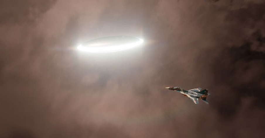 The day when a UFO outflew a fleet of Soviet Supersonic MiG 21 Jets   Ancient Code