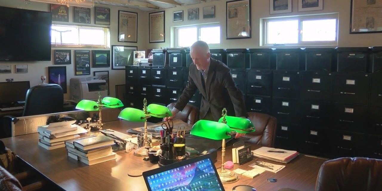 UFO researcher pledges to donate entire UFO collection to UNM