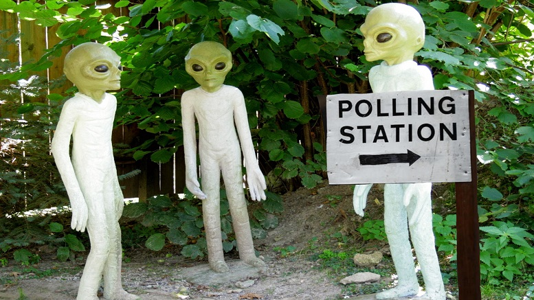 Space Force To Be Deployed To Prevent Aliens Voting in 2020