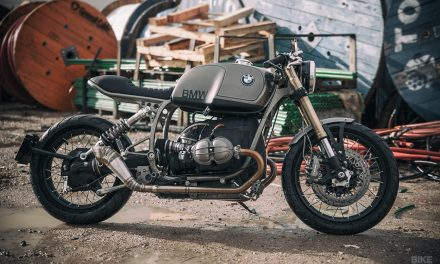 Setting the bar: UFO Garage's BMW R100R cafe racer | Bike EXIF