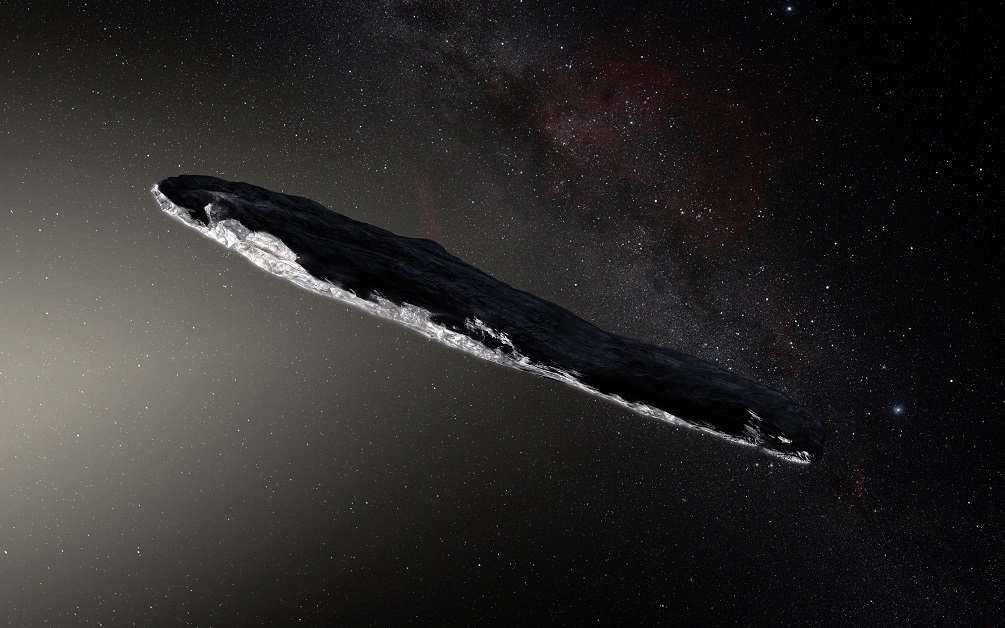 UFO Expert warns: Attempting to scan 'Oumuamua may 'wake' alien intelligence inside