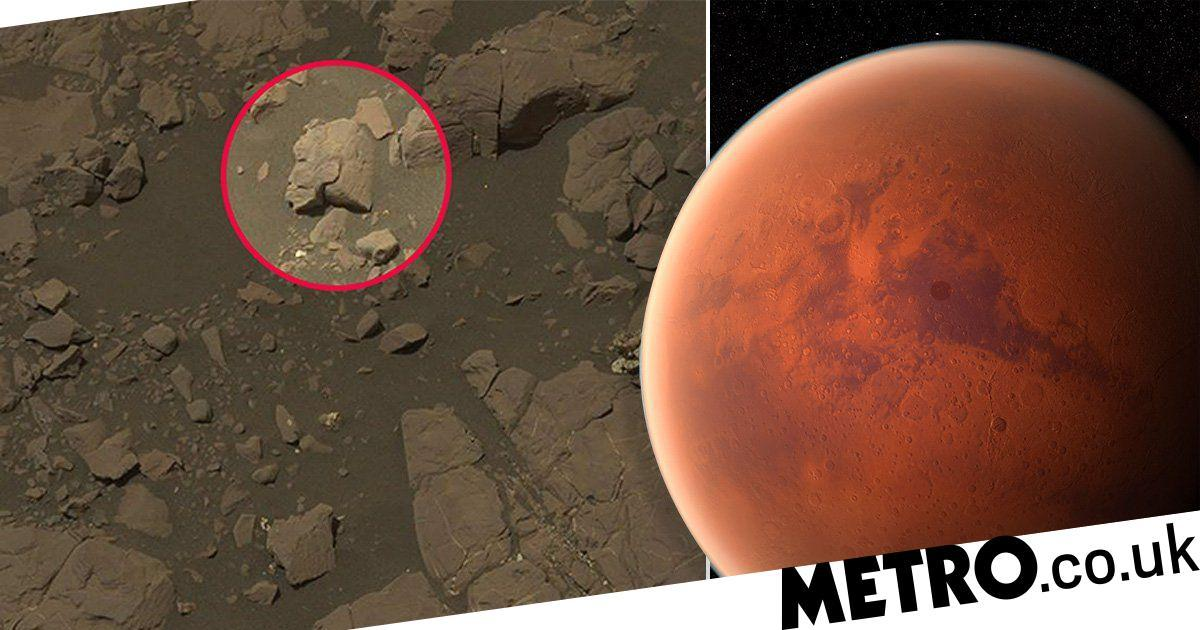 Is this proof aliens lived on Mars? Warrior woman spotted in Nasa pic
