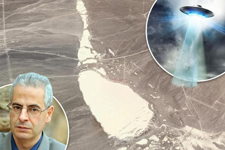 Google Earth blind spot over experimental military base may be where US government hides crashed UFOs, defence insider claims