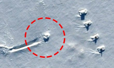 UFO Crash Site Guarded by Tanks Revealed With the Help of Google Earth