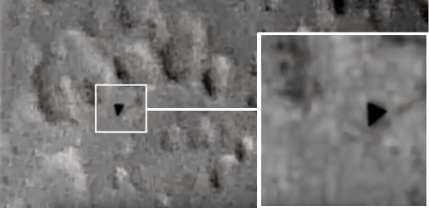 Triangle-Shaped UFO Spotted by Astronomers On The Moon's Surface Sparks Conspiracy | Ancient Code
