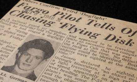 1948 'dogfight' with UFO recounted by new TV show | North Dakota News | bismarcktribune.com