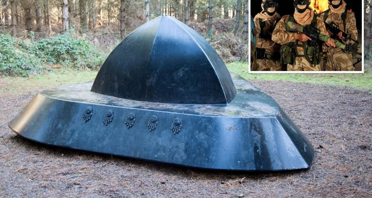 Britain's most famous UFO mystery was actually just SAS soldiers pranking the Americans, sleuth claims