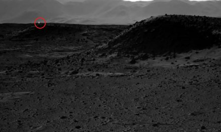 Mysterious white light spotted on Mars