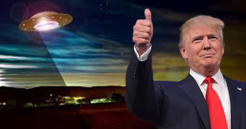 Trump Promises To Tell Americans Truth About UFOs