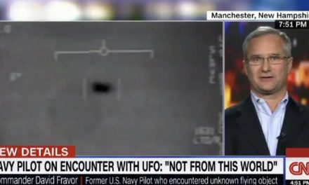 Ex-Navy Pilot Spills The Beans: Describes Encounter With UFOs