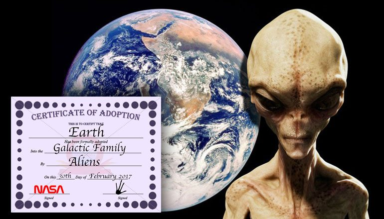 NASA Puts Earth Up For Adoption, Will Aliens Respond?