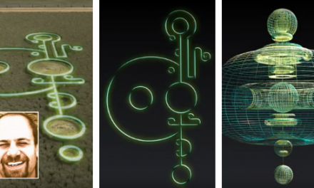 A Man Tests If Crop Circle Images Are Blueprints For UFOs | UFOholic.com