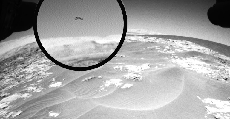 Another UFO Appearance on Mars Deepens the Mystery Even More