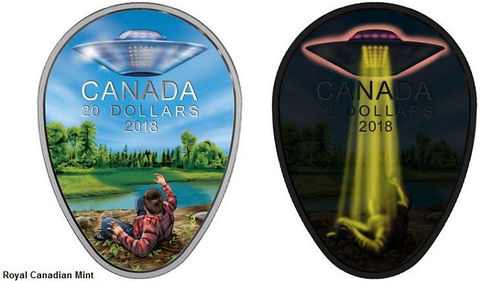 A UFO Encounter Will Be Featured On A New $20 Canadian Coin – Collective Evolution