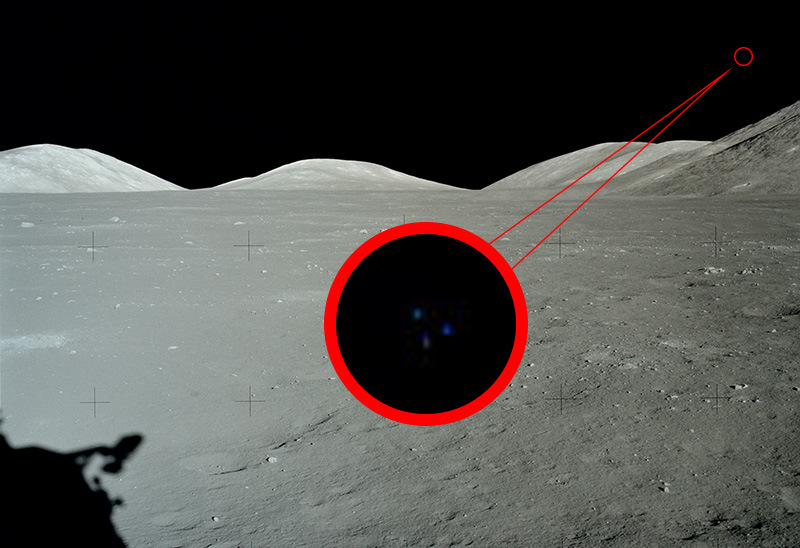 Apollo 17 UFO image: The moon isn't a desolate place as we have been told