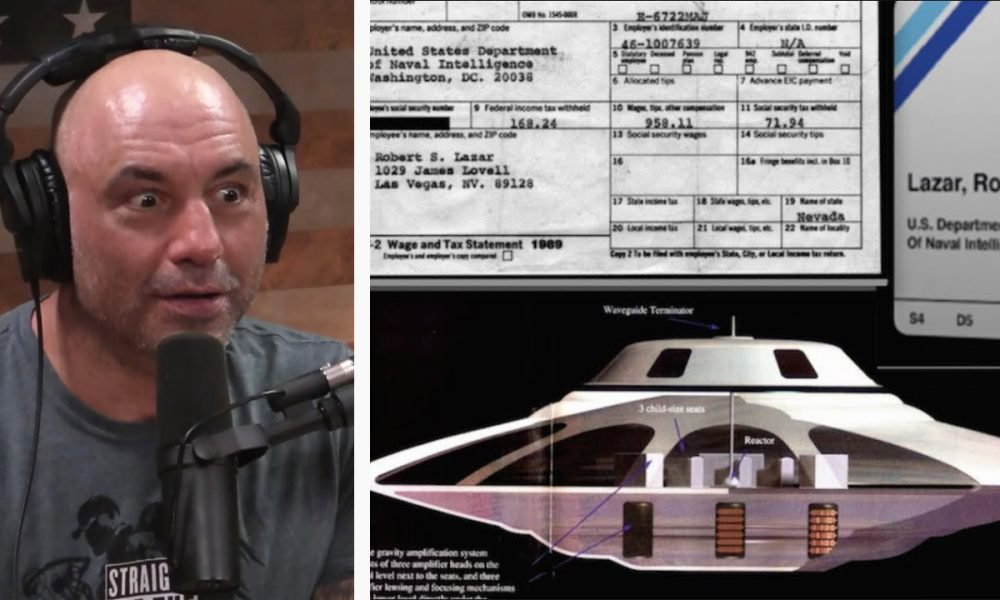 """Joe Rogan """"Pushed Over The Edge"""" About UFOs After His Recent Podcast With Bob Lazar – Collective Evolution"""