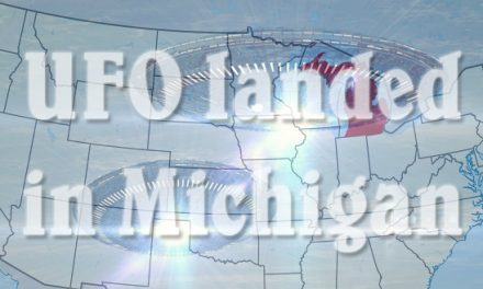 Landed UFO and Little Entities On The Ground Witnessed By A Family In Michigan