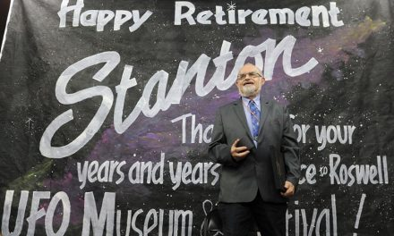 Stanton Friedman explores future of ufology; Famous UFO lecturer celebrates retirement and conducts first lecture for 23rd UFO Festival